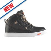 Scruffs Derwent Safety Hiker Boots Black / Camouflage Size 7