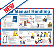 Safe Manual Handling Poster 420 x 594mm