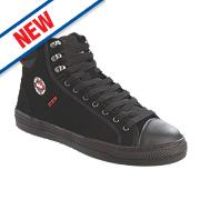 Lee Cooper Flexible Trainer Boots Black Size 8