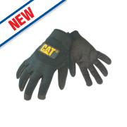 Cat Mechanic's Gloves Black Large