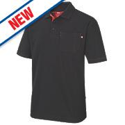 "Lee Cooper Polo Shirt Black Medium "" Chest"