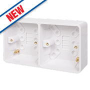 Schneider Electric Dual Surface Pattress 25mm