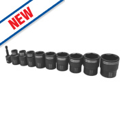 Erbauer Impact Driver Socket Set 10 Pieces