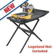 DeWalt D24000-GB 250mm Sliding Table Wet Tile Saw 240V