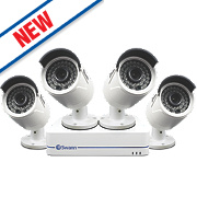 Swann SWNVK-872852 8-Channel 1080P HD NVR CCTV Kit with 4 Cameras