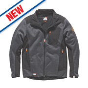 "Scruffs Classic Tech Soft Shell Jacket Black/Grey Large 44-46"" Chest"