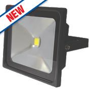 LAP Slimline LED Floodlight 30W Black