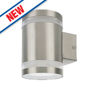 Ranex Sonya Stainless Steel Outdoor LED Wall Light 300Lm 5W