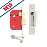 "Union 5-Lever Mortice Sashlock Stainless Steel 2½"" / 68mm"
