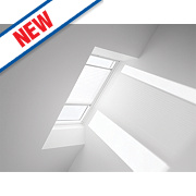 Velux Pleated Blind White 660 x 1180mm
