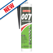 Evo-Stik 007 All-in-One Sealant & Adhesive Black 290ml