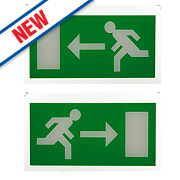 Saxby Luxway Emergency Exit Signs