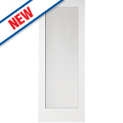 Jeld-Wen Shaker Single-Panel Obscure-Glazed Interior Door Primed 1981 x 762mm