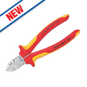 Knipex Diagonal Insulation Stripping / Side Cutting Pliers 160mm