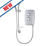 Triton T70gsi Manual Electric Shower Satin Silver 9.5kW