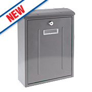 Yale Maryland Post Box Stainless Steel Satin Stainless Steel