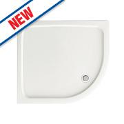 Aqualux Aqua 45 Quadrant Shower Tray 800 x 800 x 45mm