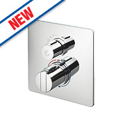 Ideal Standard Easybox Slim Built-In Thermostatic Mixer Shower Valve Fixed Chrome