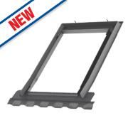 Velux EDN FK06 2000 Single Window Recessed Slate Flashing 660 x 1180mm