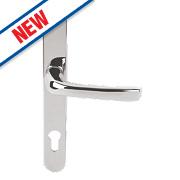 Mila ProLinea Lever Door Handles Type B Pair Polished Chrome