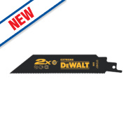 DeWalt DT2407-QZ Extreme Reciprocating Saw Blades Metal 152mm Pack of 5