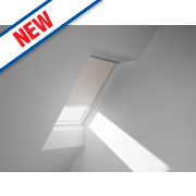 Velux Electric Blackout Blind Beige 780 x 1180mm