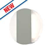 Robo Matt Grey LED Wall Light 2 x 3W