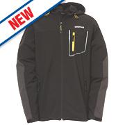 """CAT Capstone Softshell Jacket Black X Large 46-48"""" Chest"""