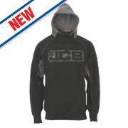 JCB Hoodie Black/Grey Medium 39