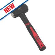 Forge Steel Fibreglass Handle Club Hammer 2.5lb