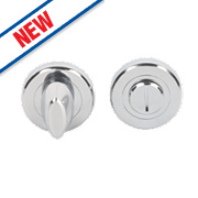 Smith & Locke Contemporary Bathroom Thumbturn/Release Pol. Chrome 50mm
