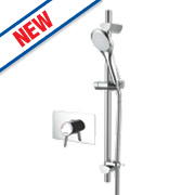 Bristan Acute Thermostatic Sequential Mixer Shower Built-In/Exposed Chrome