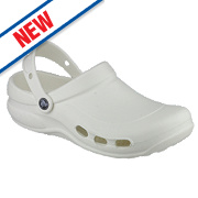Crocs Vent Non-Safety Work Shoes White Size 9