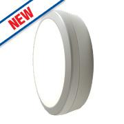 Luceco Atlas LED Microwave Round Bulkhead White 18W
