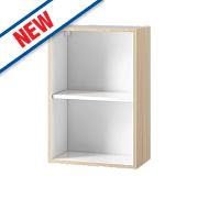 Oak Kitchen Wall Cabinet 500 x 282 x 738mm
