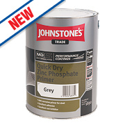 Johnstones Quick-Drying Primer Grey 5Ltr