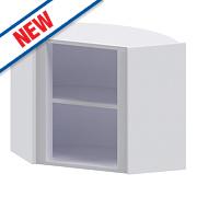 Diagonal Corner Wall Cabinet 625 x 625 x 738mm