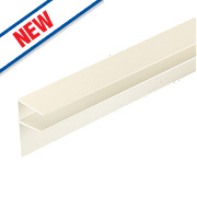 Corotherm Side Flashing White x 16 x 3000mm Pack of 2