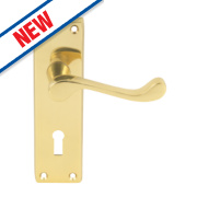 Carlisle Brass External Door Handle Pack Polished Brass