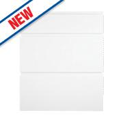 Slab Kitchens Handleless Pan Drawer Set 600 White Gloss 715 x 597mm