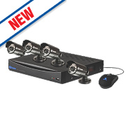 Swann DVR8-1260 8-Channel D1 CCTV Digital Video Recorder Kit with 4 Cameras
