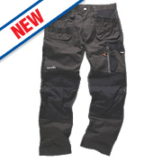 "Scruffs 3D Trade Trousers Graphite 40"" W 31"" L"