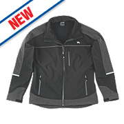 "Hyena Summit Softshell Fleece Jacket Black Large 47"""