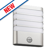 Philips Wall Light with PIR Stainless Steel 270Lm 30W