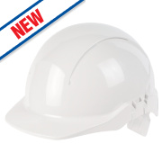 Centurion Concept Full Peak Adjustable Safety Helmet White