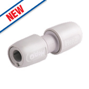 Hep2O HD1/10WS Push-Fit Straight Connector 10mm
