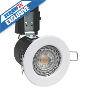 Robus Fire Rated Fixed LED Downlight IP20 White 3.5W