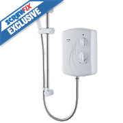 Triton Enrich Manual Electric Shower White 8.5kW