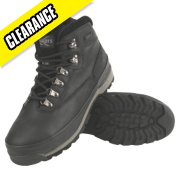 TUSKERS S3 WATERPROOF BOOT BLACK SIZE 9