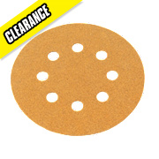 Norton Sanding Grip Disc 125mm 180 Grit Pack of 10